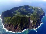 Aerial-view-of-Aogashima-a-volcanic-Japanese-island