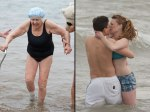 Grandma-and-couple-kissing-at-different-New-Years-Day-polar-bear-plunge-events