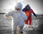 Polar-Bear-and-Super-Dad-at-89th-Annual-Vancouver-Polar-Bear-Swim