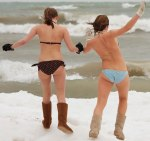Two-brave-girls-prepare-to-take-the-polar-bear-plunge-New-Years-Day-at-Bradford-Beach-Milwaukee-Wisconsin