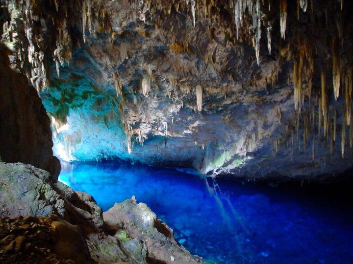 Blue-Lake-Cave-in-Bonito-Brazil-