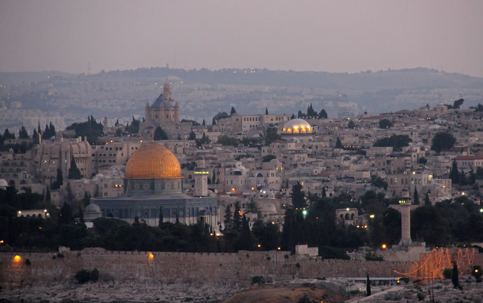 Jerusalem-old-city-Geography-of-Israel