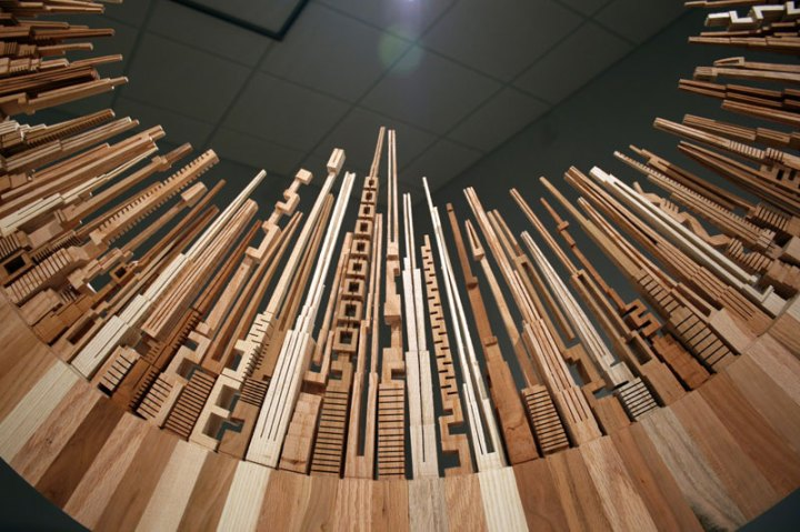 wooden-cityscape-wheel-carving-sculpture-james-mcnabb-1