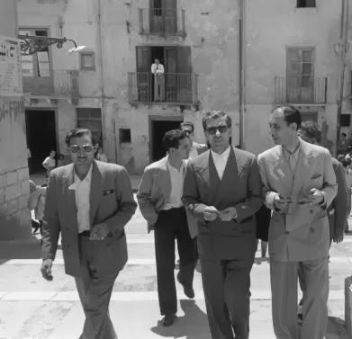 Ο Λουτσιάνο στην Ιταλία.